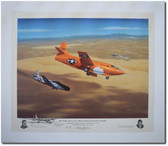Belle X-1 Hey Pard Aviation Art Limited Edition