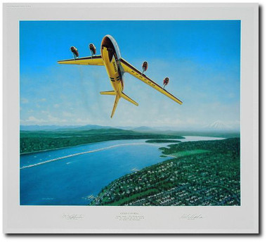 Gold Cup Roll by Mike Machat  Aviation Art