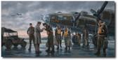 Coming Home, England 1943  Aviation Art