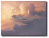 No Bridge Too Far by Michael Harris - Boeing KC-135 Aviation Art