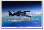 Dragon Lady by Mark Karvon – U-2S Aviation Art