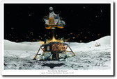 We're On Our Way Houston by Mark Karvon – Apollo 17