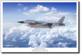 Operation Heat Rise Aviation Art by Mark Karvon– B-58A Hustler Aviation Art