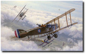 Two Birds With One Stone by Russell Smith - Bristol fighter E'2181 Aviation Art