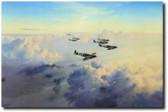 Bader's Bus Company by Robert Taylor - Spitfire Aviation Art