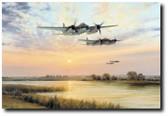 Broken Silence by Robert Taylor - Mosquito B.IVs Aviation Art