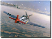 Two Down, One to Go by William S. Phillips Aviation Art