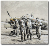Crack Ace by Robert Taylor Aviation Art