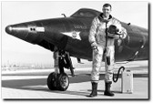 Joe Engle With The X-15 Aviation Art