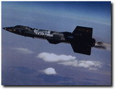 X-15 in Flight- aviation Art