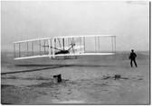 Wright Flyer - Orville Wright Aviation Art