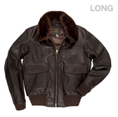 G-1 Flight Jacket with Removable Collar (LONG)