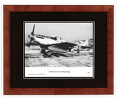 """Old Crow"" P-51 Mustang Photograph Signed by Colonel Clarence E. ""Bud"" Anderson  Aviation Art"