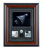 Mercury Atlas-1 Framed W Relic aviation art