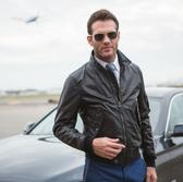 Leather M-86 Flight Jacket