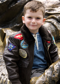 Kids Top Gun G-1 Jacket