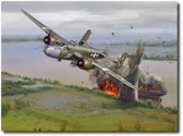 501st Bomb Squadron's Mission to Saigon – 28 April 1945NEW!