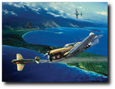 Escape from Cape Moem(Pilot Signed)