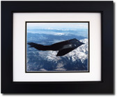 F-117 Nighthawk over the Mountains