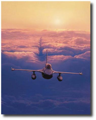 High Flight by Dru Blair - F-16 Fighting Falcon