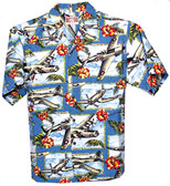 Island Mist - Hawaiian Aviation Shirt