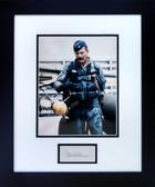 Gen. Robin Olds in Flight Suit (Signed)