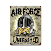 USAF Unleashed Metal Sign