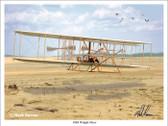 Wright Flyer (wrightflyer) Aviation Art