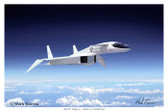 Riding The Shockwave (xbvma370fe) Aviation Art