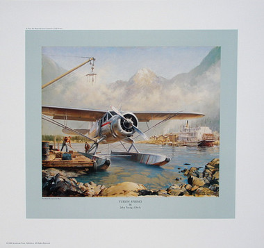 Yukon Spring (Yukon-Spring)  Aviation Art