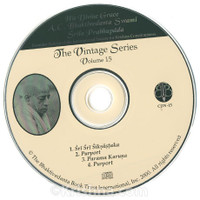 Srila Prabhupada Vintage Series, Volume 15, CD