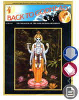 Back to Godhead Issue, Vintage 1975, Vol 10 No 10, Download