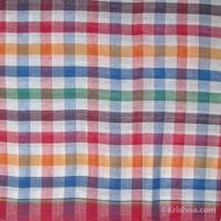 Cotton Bengali Gamcha, Multi Color Squares