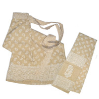 Cotton Wrap-Around Skirt,  Tilak Paisleys