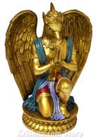 "Garuda Figurine, Bronze Color, 8.5"""