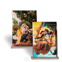 Radha & Krishna Swing Pastimes, Small Acrylic