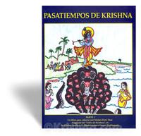 Krishna's Pastimes Coloring Book, Pt. 1, Spanish