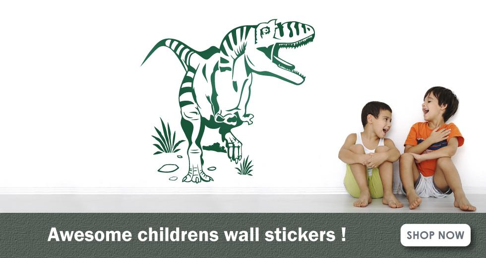 childrens wall stickers banner
