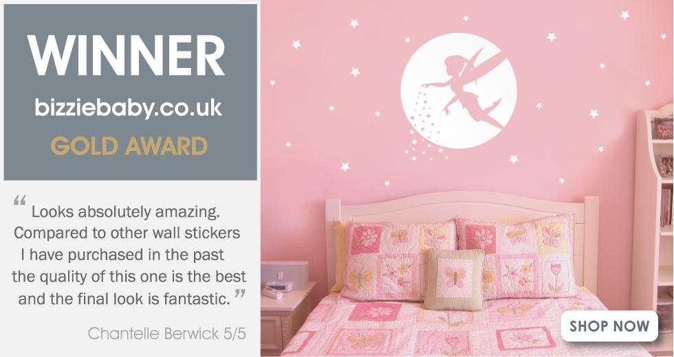 fairy wall sticker banner