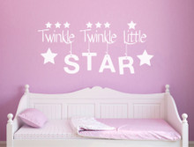 twinkle twinkle wall sticker