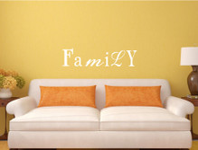 family wall sticker decal