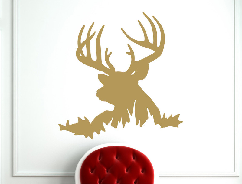 deer wall sticker hunting wall decal deer wall decals amp wall stickers zazzle
