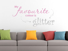 glitter wall sticker wall quotes