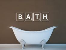 bath wall sticker