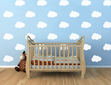 Cloud Wall Decals White Part 45