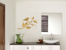 bird on a twig wall sticker