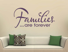 families are forever wall art