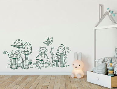 childrens woodland wall sticker