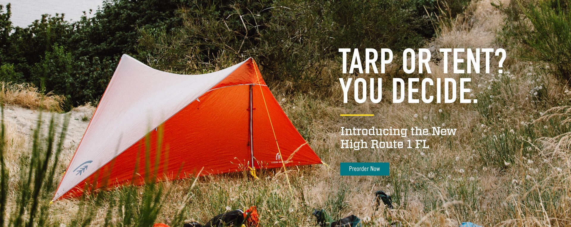 Introducing the New High Route 1 FL Tent