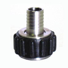 "Blichmann QuickConnector 1/2"" NPT x 1/2"" Straight Barb"